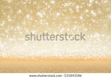 glitter sparkle gold background, Defocused abstract gold lights on background