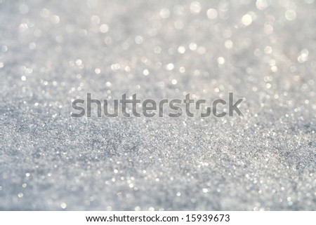 glitter sparkles dust on background , super macro shot, shallow DOF