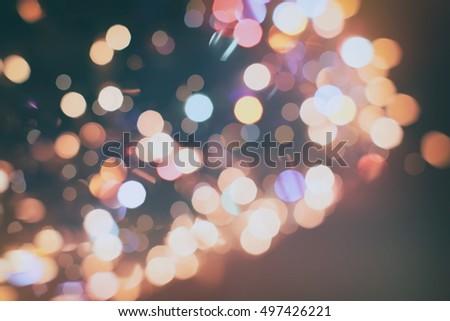 Glitter vintage lights background #497426221