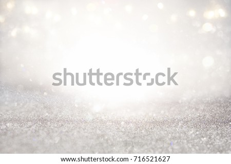 glitter vintage lights background. defocused #716521627