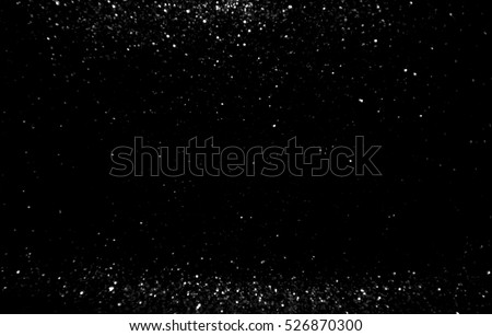 glitter vintage lights background. silve defocused #526870300