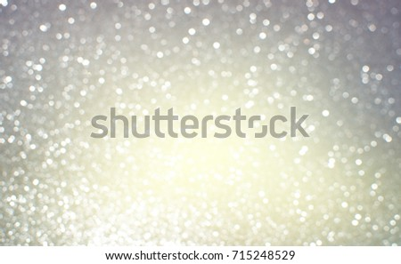 glittering Christmas lights, blurred abstract festive background - Shutterstock ID 715248529
