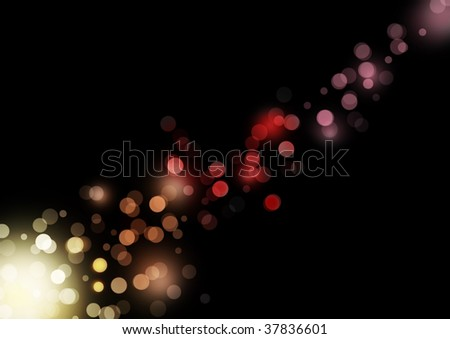 glittering lights background
