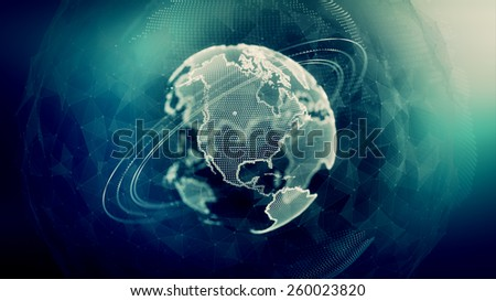 Global Communications Concept.