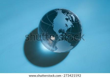 Global Communications, Global Business, Globe.