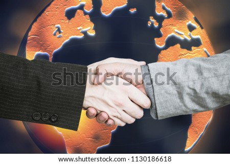 Global dominance and planning by corporations and entrepreneurs who agree to create better corporate structure and contracts. #1130186618