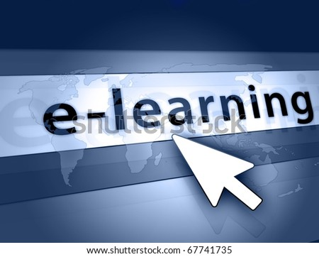 global elearning illustration