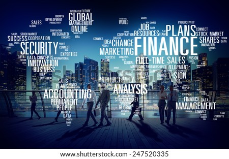 Global Finance Business Financial Marketing Money Concept #247520335