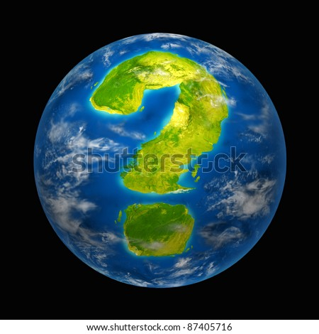 Global future and questions featuring the planet earth with a continent in the shape of a question mark for international environment and political change and global warming for nature and the world.