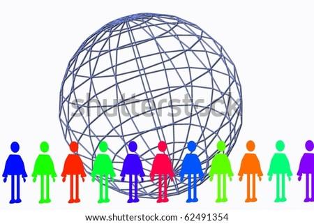global human chain