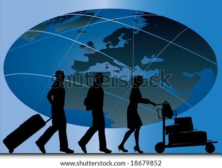 Global Travel Illustration