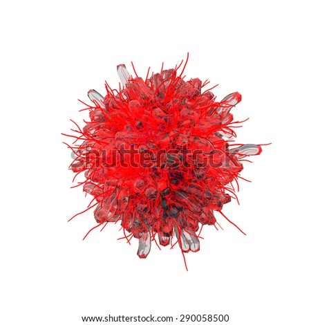 Global virus and world virus infection as a health care symbol with dangerous contagious bacteria infecting different populations blood