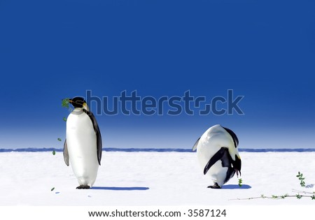 Global Warming in Antarctica - After the penguins realize what Global warming does, they start to work against its effects