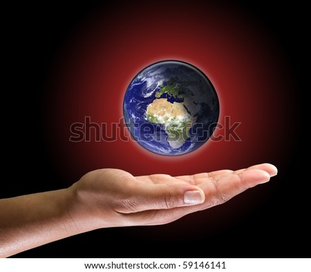 Global warming in your hand