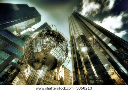 Globe at Columbus Circle - Manhattan - New York - United States of America