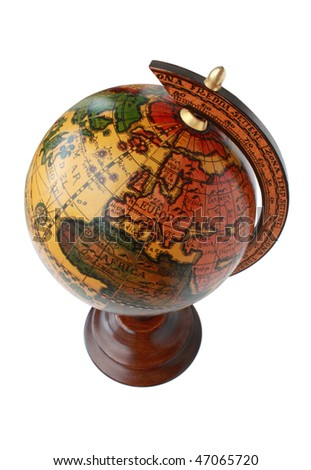 Globe from the top