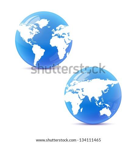 globe isolated