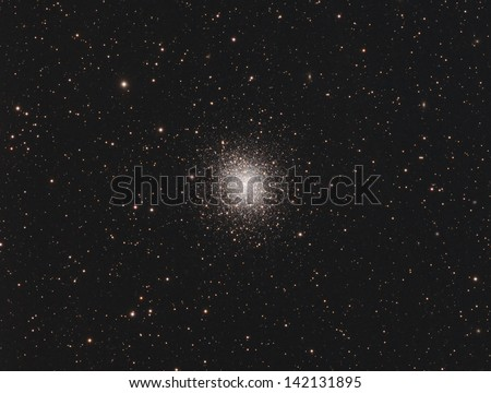 Globular Cluster Messier 92 - A globular cluster of stars about 27,000 light years away in the constellation Hercules