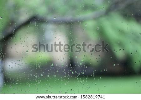 gloomy and rainy aday Stok fotoğraf ©