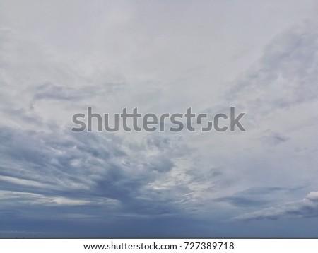 Gloomy sky #727389718