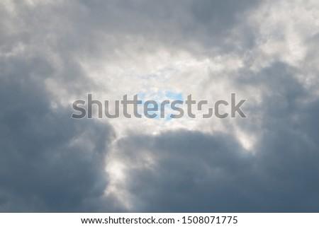 gloomy sky with clear sky #1508071775