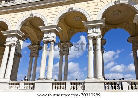 Gloriette of the Sch�¶nbrunn Palace Garden
