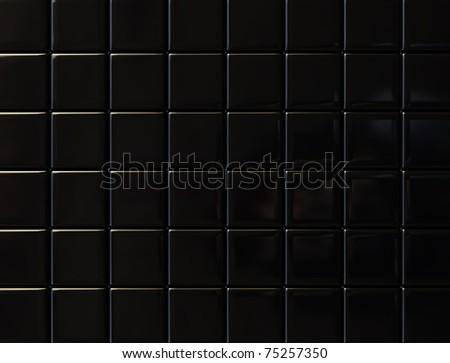 glossy black metal background pattern surface