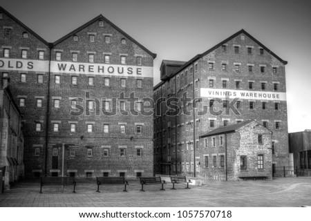 Gloucester Historic Docks, Warehouse Buildings
