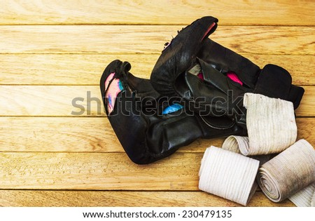 Gloves for martial arts