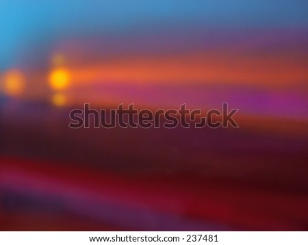Glowing golden blur background