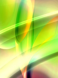 glowing illustration abstract