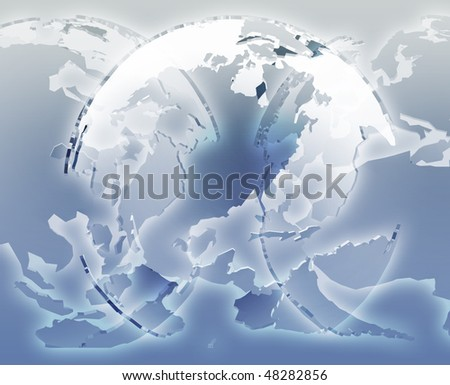 Stock illustration countries 2011