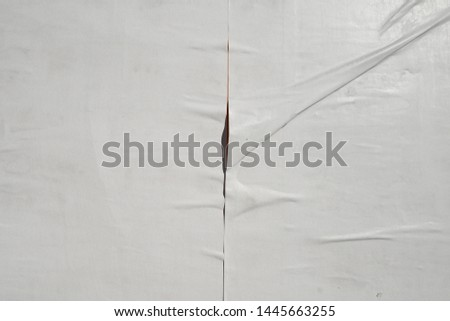 glued plastered white urban street wall poster texture