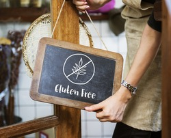 Gluten Free Healthy Lifestyle Concept