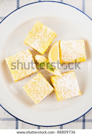 Gluten, Sugar, and Dairy Free Homemade Lemon Bar Cookies