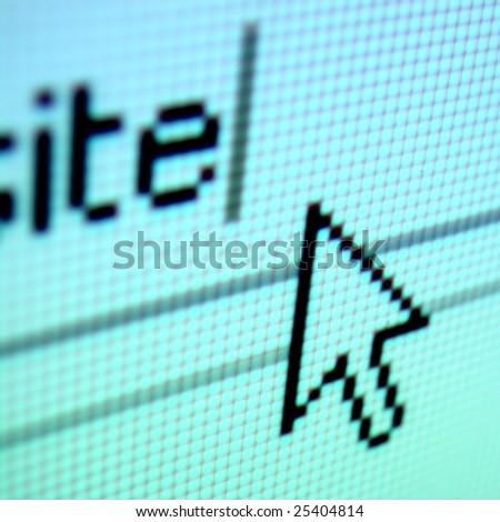 go to www - stock photo