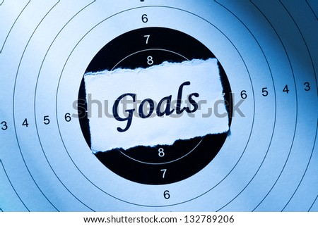 Goal concept, word on target paper
