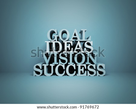 Goal Ideas Vision Success