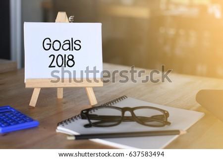 Goals 2018 words