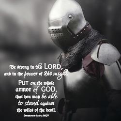 God´s soldier armor Ephesians  6:10