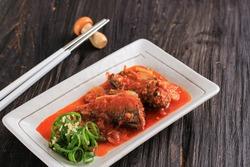 Godeungeo , Godeungeo jorim, mackerel,salted mackerel, fresh mackerel, chub mackerel, scomber japonicus, chromatophore, Common mackerel, sea, seafood, Chordata, Animalia, gogalb