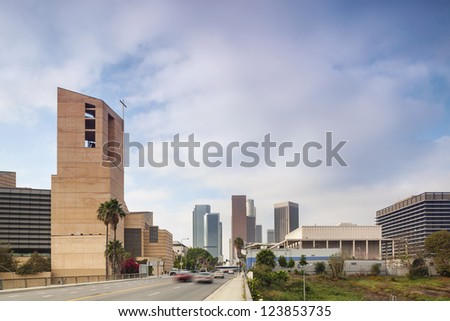 Going to Financial District in Los Angeles, California