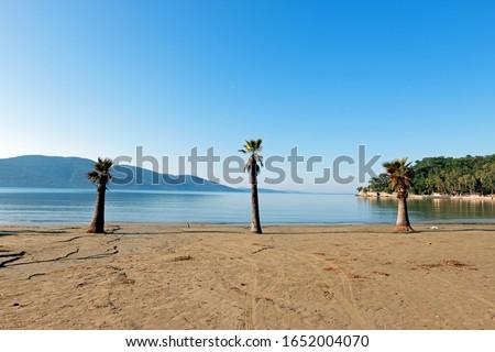 Gokova Gulf in Aegean Sea, Turkey Stok fotoğraf ©