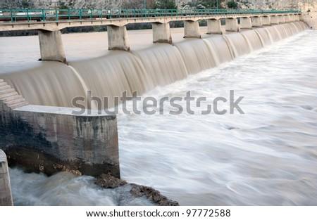 goksu dam (Silifke Turkey)