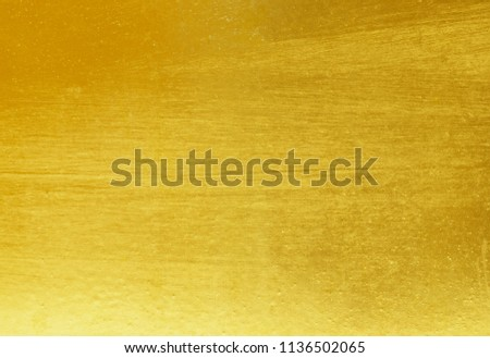 Gold abstract background or texture and gradients shadow. #1136502065