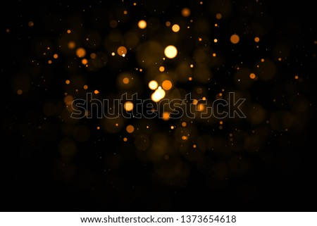 Gold abstract bokeh background. #1373654618