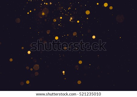 Gold abstract bokeh background #521235010