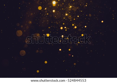 Stock Photo Gold abstract bokeh background