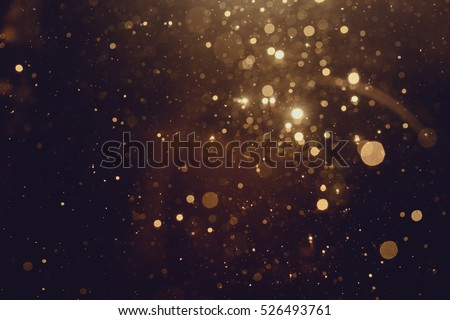Gold abstract bokeh background #526493761