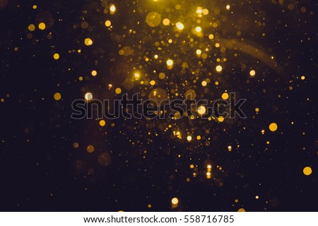 Gold abstract bokeh background #558716785